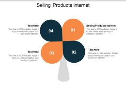 Selling Products Internet Ppt Powerpoint Presentation Show Clipart Images Cpb