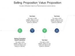 Selling Proposition Value Proposition Ppt Powerpoint Presentation Ideas Gridlines Cpb