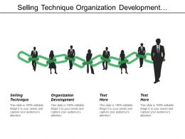 Selling Technique Organization Development Channel Management Performance Management Cpb
