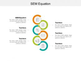 SEM Equation Ppt Powerpoint Presentation Styles Icons Cpb