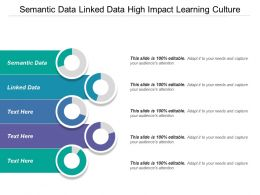Semantic Data Linked Data High Impact Learning Culture