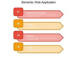 Semantic Web Application Ppt Powerpoint Presentation Gallery Format Ideas Cpb