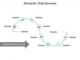 Semantic Web Services Ppt Powerpoint Presentation Layouts Backgrounds Cpb