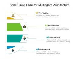 Semi Circle Slide For Multiagent Architecture Infographic Template