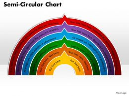 Semi Circular Chart Powerpoint Slides And Ppt 29