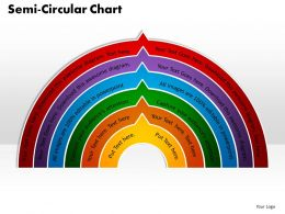 Semi Circular Chart Powerpoint Slides And Ppt Templates 0412