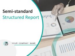 Semi Standard Structured Report Powerpoint Presentation Slides