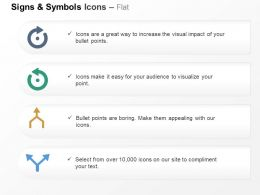 semicircular_arrow_two_directional_arrow_ppt_icons_graphics_Slide01