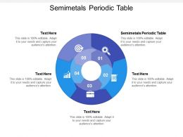 Semimetals Periodic Table Ppt Powerpoint Presentation Gallery Design Cpb
