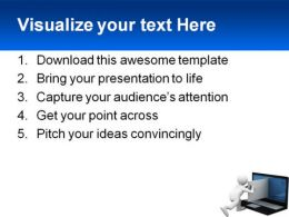 Sending Email Internet PowerPoint Template 1110  Presentation Themes and Graphics Slide03