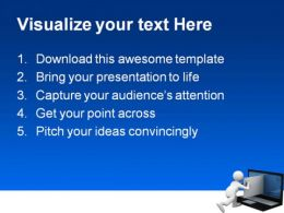 Sending Email Internet PowerPoint Template 1110  Presentation Themes and Graphics Slide02