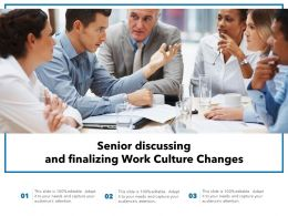 Senior Discussing And Finalizing Work Culture Changes