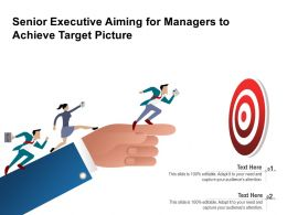 Senior Executive Aiming For Managers To Achieve Target Picture