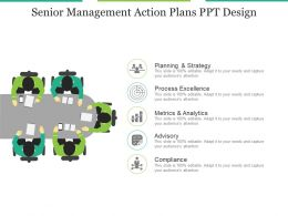 Senior Management Action Plans Ppt Design
