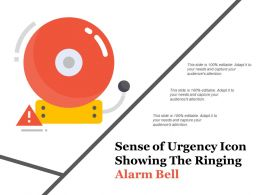 Sense Of Urgency Icon Showing The Ringing Alarm Bell