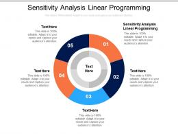 Sensitivity Analysis In Linear Programming Ppt Powerpoint Presentation File Pictures Cpb