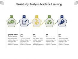 Sensitivity Analysis Machine Learning Ppt Powerpoint Presentation File Diagrams Cpb