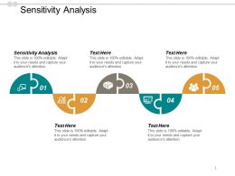 Sensitivity Analysis Ppt Powerpoint Presentation Icon Graphic Images Cpb