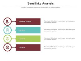 Sensitivity Analysis Ppt Powerpoint Presentation Slides Mockup Cpb