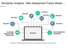Sensitivity Analytics Risk Assessment Factor Model Risk Simulations Cpb