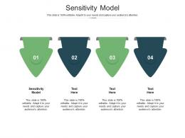 Sensitivity Model Ppt Powerpoint Presentation Infographic Template Grid Cpb
