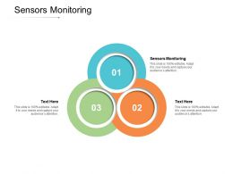 Sensors Monitoring Ppt Powerpoint Presentation Ideas Examples Cpb