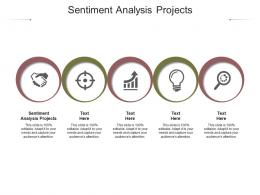 Sentiment Analysis Projects Ppt Powerpoint Presentation Infographics Visual Aids Cpb