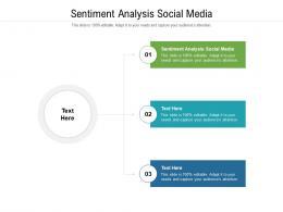 Sentiment Analysis Social Media Ppt Powerpoint Presentation Visual Aids Slides Cpb