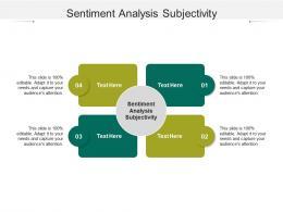 Sentiment Analysis Subjectivity Ppt Powerpoint Presentation Summary Design Templates Cpb