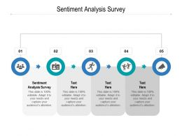 Sentiment Analysis Survey Ppt Powerpoint Presentation Styles Slide Portrait Cpb