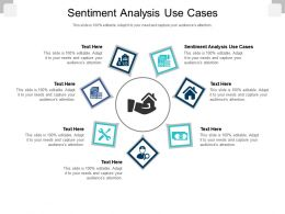 Sentiment Analysis Use Cases Ppt Powerpoint Presentation Summary Rules Cpb