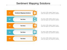 Sentiment Mapping Solutions Ppt Powerpoint Presentation Summary Display Cpb