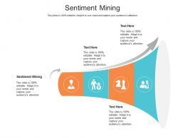 Sentiment Mining Ppt Powerpoint Presentation Model Graphics Tutorials Cpb