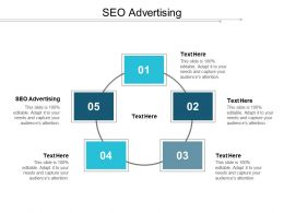SEO Advertising Ppt Powerpoint Presentation Gallery Shapes Cpb