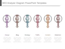Seo Analyzer Diagram Powerpoint Templates