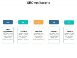 SEO Applications Ppt Powerpoint Presentation Model Cpb