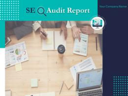 SEO Audit Report Powerpoint Presentation Slides