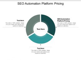 SEO Automation Platform Pricing Ppt Powerpoint Presentation Gallery Show Cpb