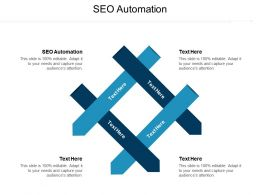 SEO Automation Ppt Powerpoint Presentation Infographics Rules Cpb