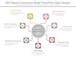 Seo Based Ecommerce Model Powerpoint Slide Designs