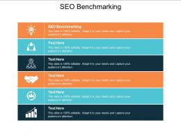 SEO Benchmarking Ppt Powerpoint Presentation Gallery Professional Cpb