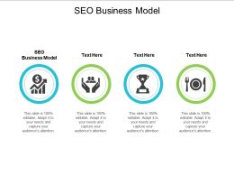 SEO Business Model Ppt Powerpoint Presentation Infographic Template Ideas Cpb