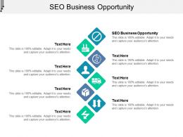 SEO Business Opportunity Ppt Powerpoint Presentation Professional Rules Cpb