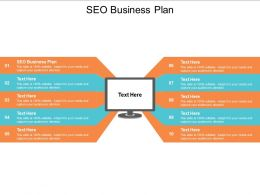 SEO Business Plan Ppt Powerpoint Presentation Gallery Show Cpb