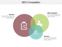SEO Competition Ppt Powerpoint Presentation Icon Inspiration Cpb