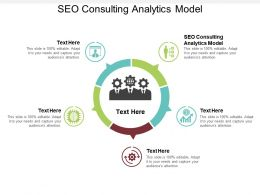 SEO Consulting Analytics Model Ppt Powerpoint Presentation Summary Topics Cpb