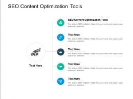 SEO Content Optimization Tools Ppt Powerpoint Presentation Show Summary Cpb