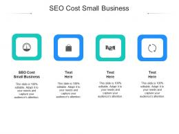 SEO Cost Small Business Ppt Powerpoint Presentation Infographics Images Cpb