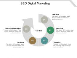 Seo Digital Marketing Ppt Powerpoint Presentation Professional Templates Cpb