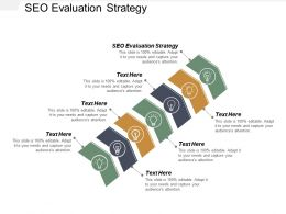 SEO Evaluation Strategy Ppt Powerpoint Presentation Icon Cpb